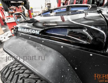 Капот Jeep Wrangler JK Avenger Superchargers 2-4D по отличной цене