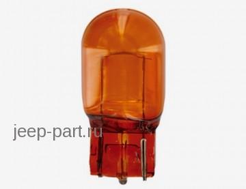 Лампа WY21W 12V W3x16D T20 7504  Желтая