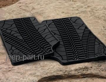 Комплект передних ковриков Jeep Wrangler JK 2D по отличной цене