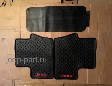 Коврики салона резиновые Jeep Compass 2011-2015 купить
