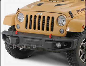 Бампер передний под лебедку 10th anniversary Jeep Wrangler JK 2-4D