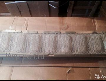 Защитная сетка в решетку радиатора хром  Jeep Grand Cherokee 2013-2015