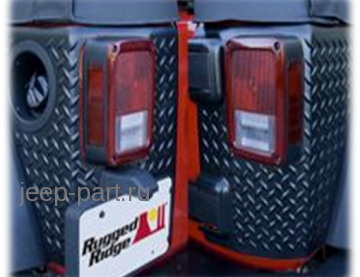 Накладки на кузов (европа) Jeep Wrangler JK  2-4D