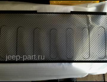 Защитная сетка радиатора  (черная) для решетки ANGRY BIRD Jeep Wrangler JK 2-4D