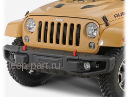 Бампер передний под лебедку 10th anniversary Jeep Wrangler JK 2-4D