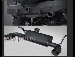 Двойной выхлоп MAGNAFLOW Jeep Wrangler JK 2-4d