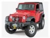 Бампер передний под лебедку AEV без дуги Jeep Wrangler JK 2-4D
