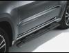 Пороги трубы черные  Jeep Grand Cherokee 2010-2018