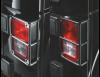 Защита задних фонарей (черный ) Jeep Wrangler Jk 2-4D
