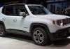 Популярный кроссовер Jeep Renegade