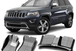Джипам Jeep Grand Cherokee поменяют салонные коврики водителя