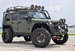 Актуальный тюнинг внедорожников Jeep