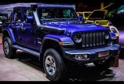 В России начались продажи обновленной версии джипа Jeep Wrangler