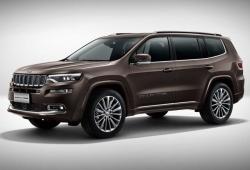Новая модель внедорожника Jeep  Grand Cherokee