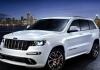 Автомобиль Jeep Grand Cherokee скоро станет еще мощнее