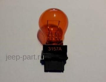 Лампа P27/7W 12V 27/7W W2,5x16q  3157Y Желтая