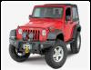 Бампер передний под лебедку AEV без дуги Jeep Wrangler JK 2-4D