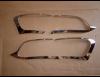 Накладки на задние фонари хром для Jeep Cherokee KL 2014+