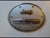 Накладка на крышку бака хром для Jeep Cherokee KL 2014+