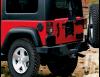 Бампер задний силовой без калитки для запасного колеса  Mopar  Jeep Wrangler JK