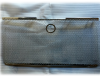 Защитная сетка радиатора с отверстием под замок капота (хром) Jeep Wrangler JK 2