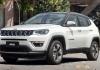 Стартуют продажи автомобиля Jeep Compass в России